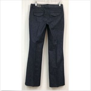 Express NWT Editor Trouser Jeans Pants Size 4 Blue